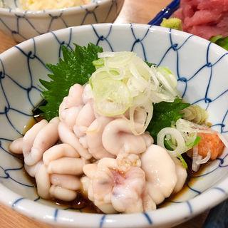 白子ポン酢(丸冨水産 目黒店 (丸富水産、まるとみすいさん))