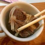 牛たんスープ