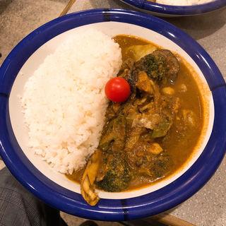 チキン野菜カレー(カリーライス専門店エチオピア 本店 )