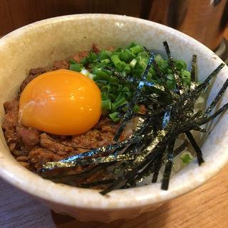 台湾丼(らーめん 御器所鶏白湯 鶏神 )