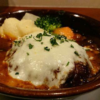煮込みハンバーグ(洋食 ヤブ カラ ボウ (洋食 yabu kara bou))