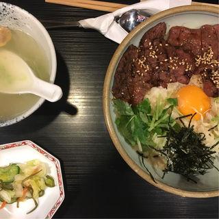 牛タン照り焼きとろろ丼(牛たん焼き仙台辺見 渋谷桜ヶ丘店 )
