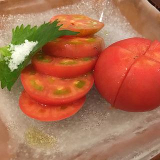 冷やしトマト(今井屋本店 えびす總本店 (イマイヤホンテン))