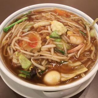 百菜 川崎 五目あんかけ湯麺(百菜 アトレ川崎店)