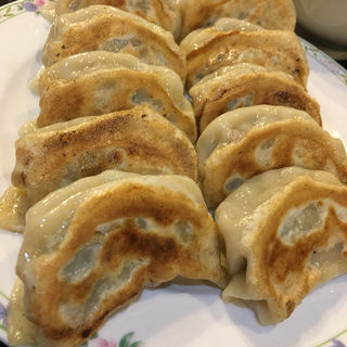W焼き大餃子セット(中華料理 東園)