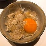 白トリュフの卵かけご飯