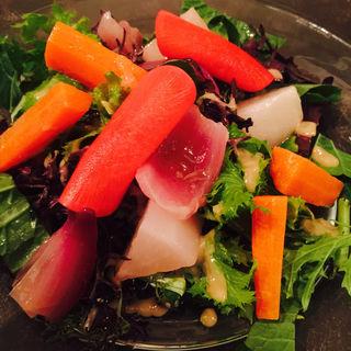 有機野菜のサラダ(ペタンク)