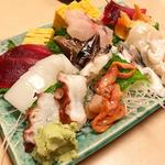 湯島でいただく新鮮な魚介、肉の絶品刺身!