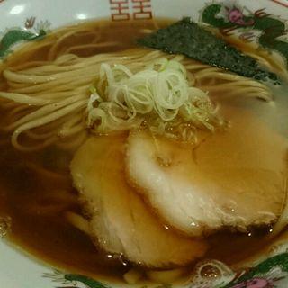 新麦の焼き干し醤油そば(カドヤ食堂 本店 (かどやしょくどう))
