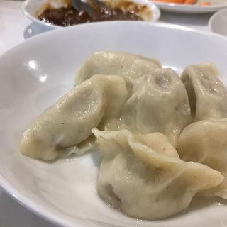 ラム肉の水餃子(味坊 (アジボウ))