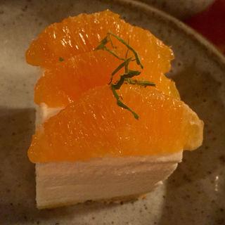 オレンジムースチーズケーキ(kiki (キキ))