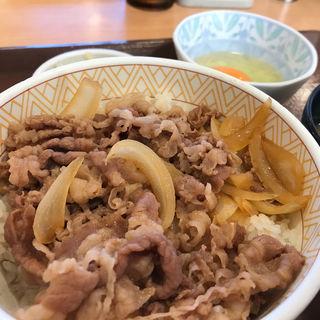 牛丼3点セット(すき家 博多BP店 )