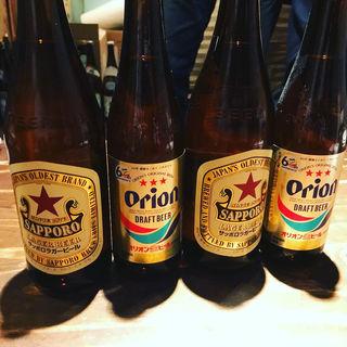 オリオンビール&サッポロラガービール(あかちょこべ)