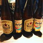 オリオンビール&サッポロラガービール