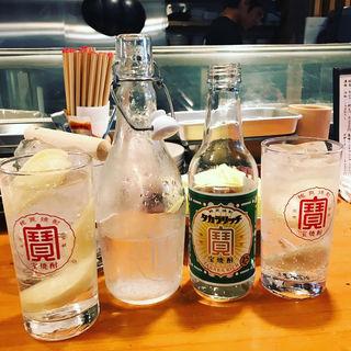 レモンサワーセット(ふみ勝 冷泉公園店)