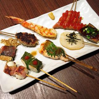 串焼き(鉄板串焼dining串ばる)