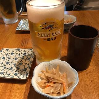 生ビール(仁和加)