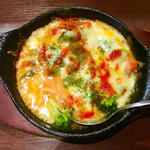 野菜チーズ焼