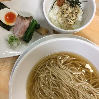 真鯖とサバ煮干しの中華そば(ガチ麺道場 )