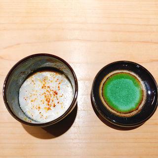 鱈の白子の蒸し寿司(喜一 (キイチ 㐂一))