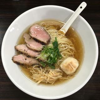 鴨中華そば(自家製麺 5102)