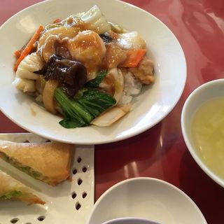 五目中華丼セット(翠園四街道店)