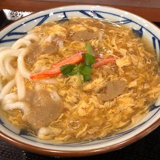 かに玉あんかけ(丸亀製麺 伊丹南町店 )