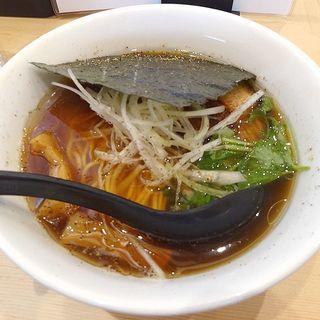 醤油そば(らーめん工房 麺作)