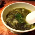 あおさ海苔スープ