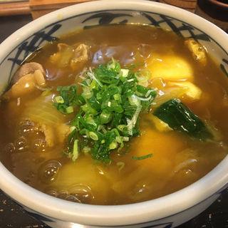 カレーうどん上(丸万 (まるまん))