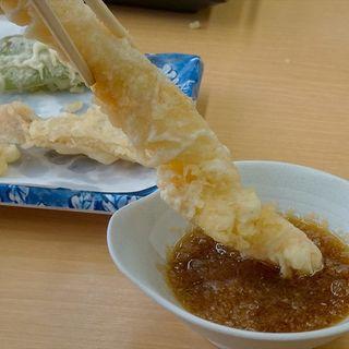 極 定食(だるまの天ぷら定食 大野城店)