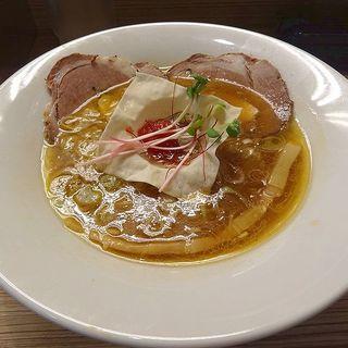 ライト鶏魚貝SOBA(〜時には起こせよ〜MOVE麺t)