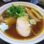 鶏生醤油(ラーメン あおやま)