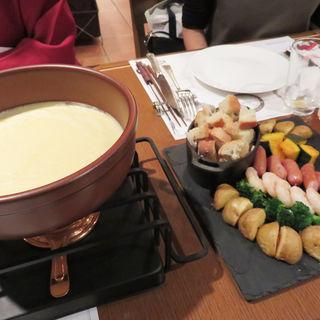 チーズフォンデュプラン(地ビール&ピッツァ オークラブルワリー)