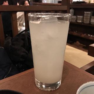 宮崎柚子サワー(宮崎もも焼き専門店 太一)