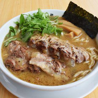 軟骨えびそば(麺屋 白神 )