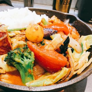 一日分の野菜カレー(キャンプ エクスプレス 池袋店 (camp express))