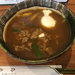 和牛カレーうどん(白扇 )