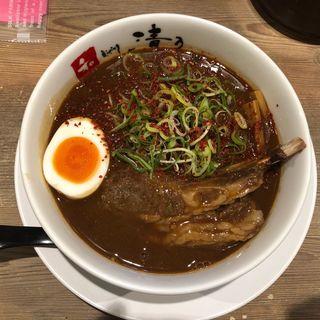 和歌山ラーメン激辛(和 dining 清乃 (セイノ))