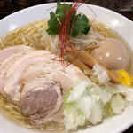 煮干塩ラーメン 大(麺舎 ヒゲイヌ )