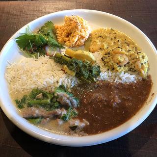あいがけ(酒 to curry アチール)