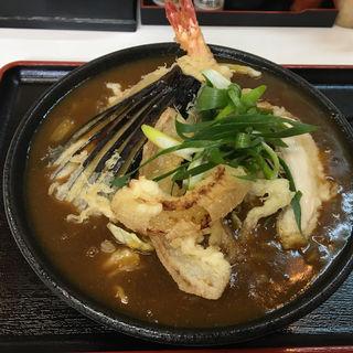 天ぷらカレーうどん(麺くい やまちゃん )