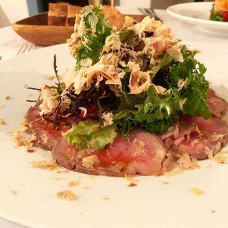 ローストビーフサラダ(La table au japon (ラ・ターブル・オ・ジャポン ))