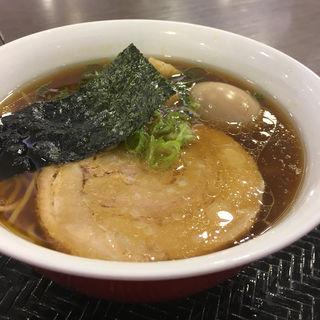 煮玉子醤油らぁ麺(創彩麺家 野の実)