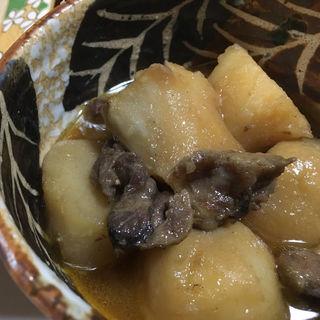 野鴨と里芋の煮物(お山の大将 )