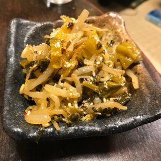 もやし高菜(酒処あかり)
