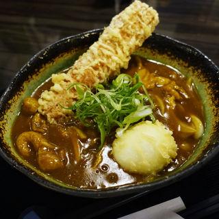 ちく卵天カレー(讃岐うどん 白庵 BYAKUAN)