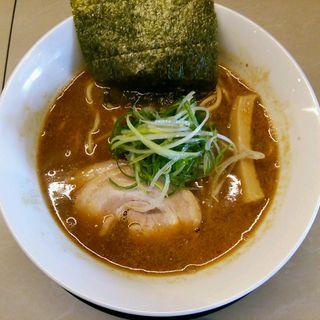 赤味噌らーめん(みつか坊主 醸 (カモシ))