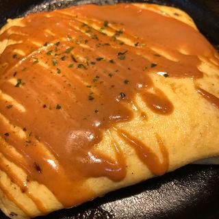 チーズオムレツ(わらい食堂 イオンモール新小松店)