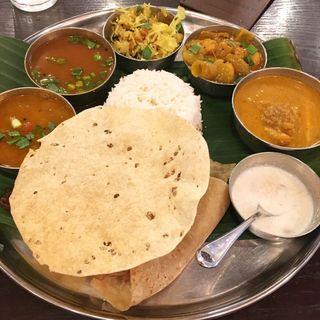 ランチミールス(アーンドラ・ダイニング 銀座 (Andhra Dining GINZA))
